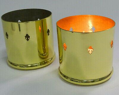 12 Stück Kerzenhalter Grableuchte Antik Laterne Windlicht Grablicht Metall