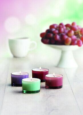 4 Stück runde Teelichtgläser Teelichthalter Votivglas Kerzenhalter Teelichtglas