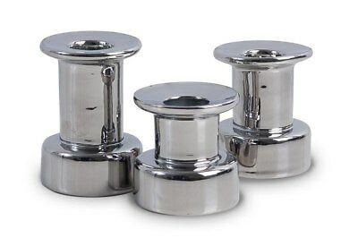 Müller 3er Kerzenhalter & Teelichthalter Silber 2 in 1 Set Kerzenständer
