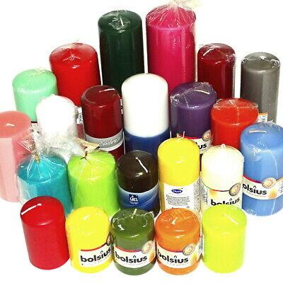 5 kg Qualität Stumpenkerzen farblich bunt gemischt 1. Wahl Stumpen Kerzen Kerze