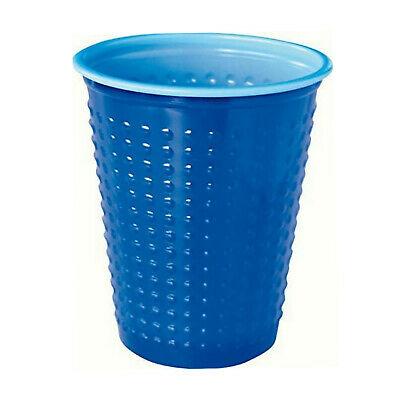 200 Stück Plastikbecher Einwegbecher 0,2 L Party Kindergeburtstag Blau