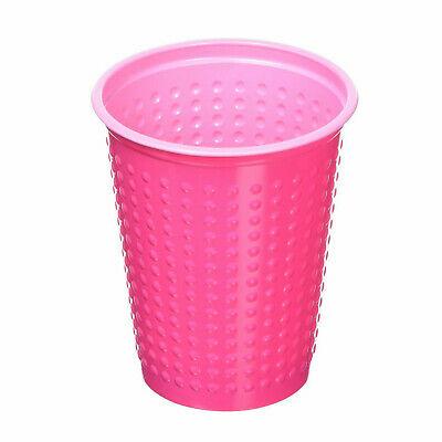 400 Stück Plastikbecher Einwegbecher 0,2 L Party Kindergeburtstag Pink-Rosa