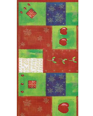 100 Stück Dunicel Mitteldecken 84x84cm Tischdecken stoffähnlich Weihnachten XMAS