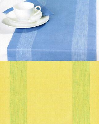 3 Pack Tischläufer Tischband je 33 x 600cm Tischdeko Gelb Zellstoff