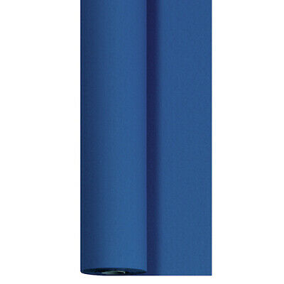 Tischdeckenrolle 25 m x 125 cm stoffähnlich Einweg Vlies Tischdecke Rolle Blau