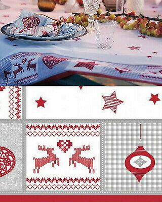 10 Stück Duni Mitteldecken 84x84 cm Tischdecken stoffähnlich Nordic Weihnachten