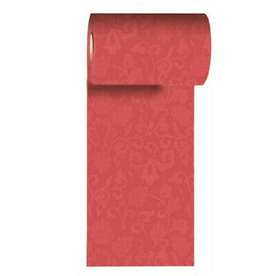 Duni Dunicel Tischband 20 x 0,15 m Tischläufer Dekoration Tischdeko Coral-Pink