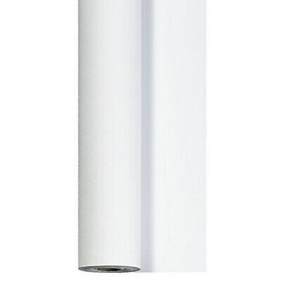 Tischdeckenrolle 40 m x 125 cm stoffähnlich Einweg Vlies Tischdecke Rolle Weiß