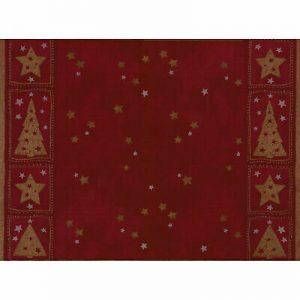500 Stück Tischset 40x30 cm stoffähnlich Platzset Weihnachten Christmas Bordeaux