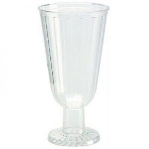 150 Stück Einweg Weingläser 200ml Sektglas Weinglas Kunststoff Plastikbecher