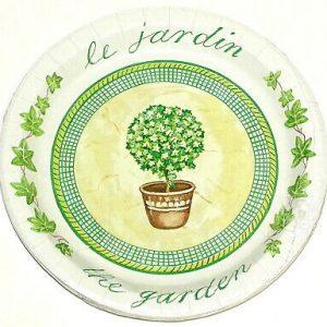 100 Stück Einweg Pappteller beschichtet rund Ø 23 cm Imbissteller Gartenparty