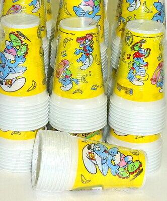 200 Stück Plastikbecher Einwegbecher 0,2 L Party Kindergeburtstag die Schlümpfe