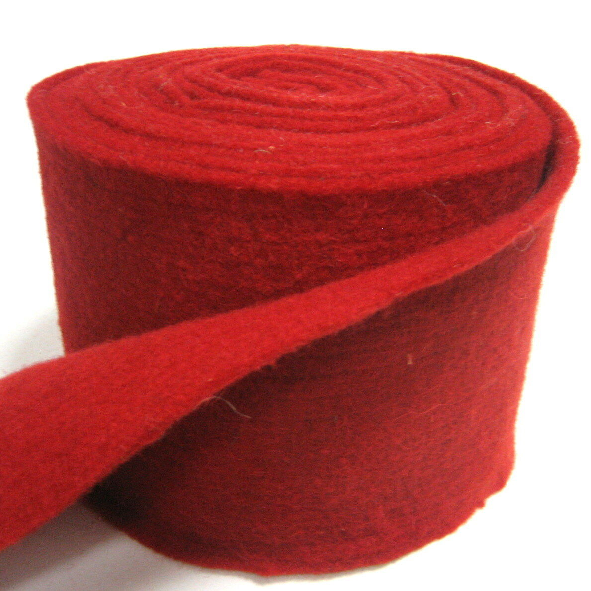 Topfband Filz 5 m x 15 cm Dekoband Wollvlies Filzband Wollband Schafwolle Bastel - Rot