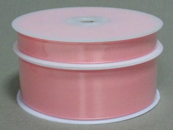 Seidenband Schleifenband 50 m x 15 mm / 40 mm Dekoband ab 0,08 €/m Geschenkband  - Hellrosa 216, 40 mm x 50 m