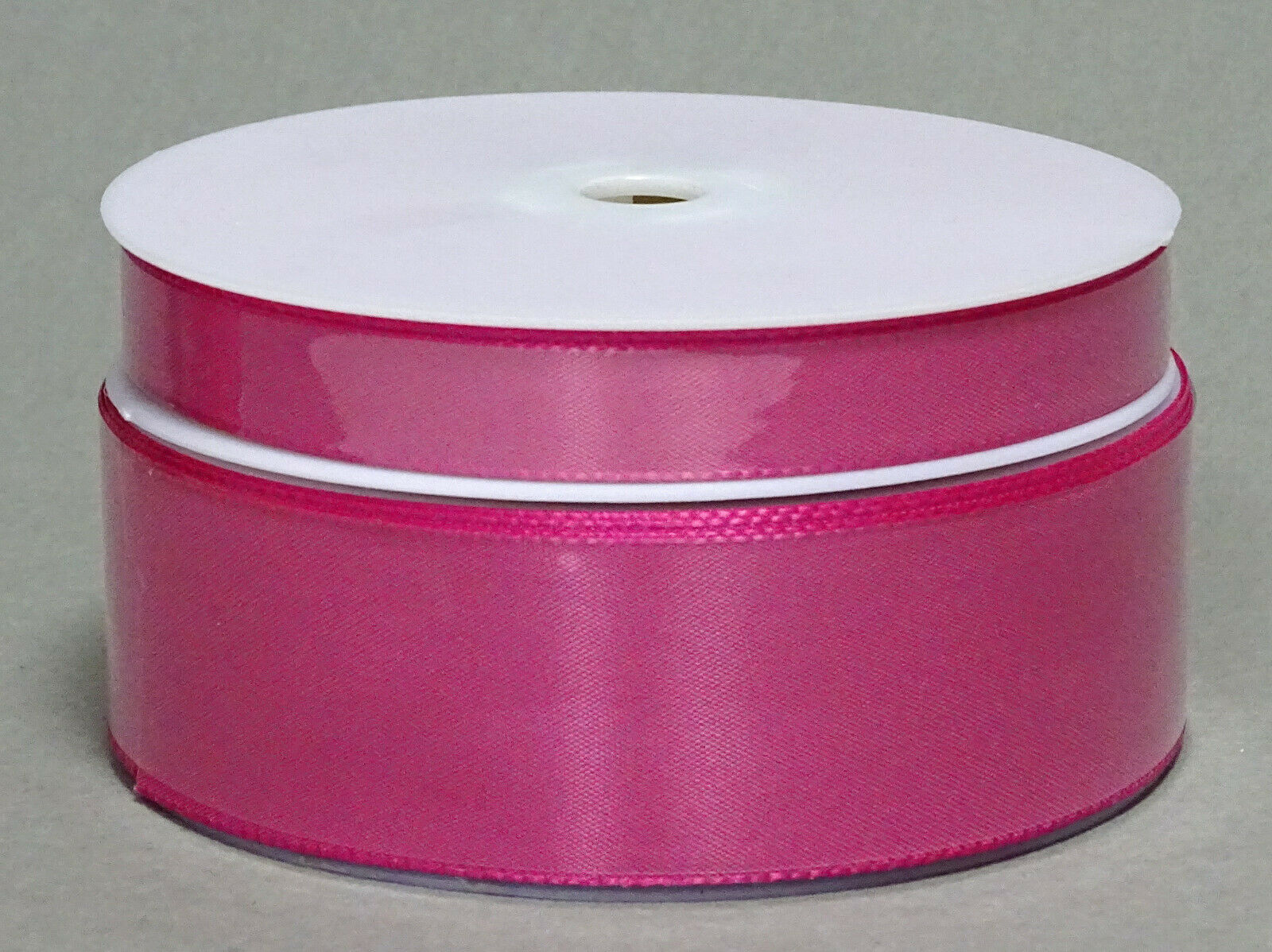 Seidenband Schleifenband 50 m x 15 mm / 40 mm Dekoband ab 0,08 €/m Geschenkband  - Pink 138, 15 mm x 50 m
