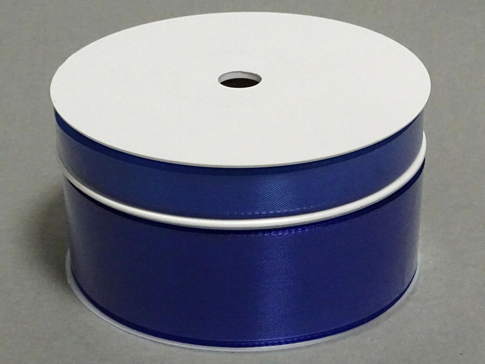 Seidenband Schleifenband 50 m x 15 mm / 40 mm Dekoband ab 0,08 €/m Geschenkband  - Königsblau 120, 40 mm x 50 m