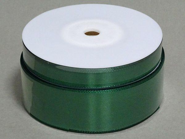 Seidenband Schleifenband 50 m x 15 mm / 40 mm Dekoband ab 0,08 €/m Geschenkband  - Grün 858, 40 mm x 50 m