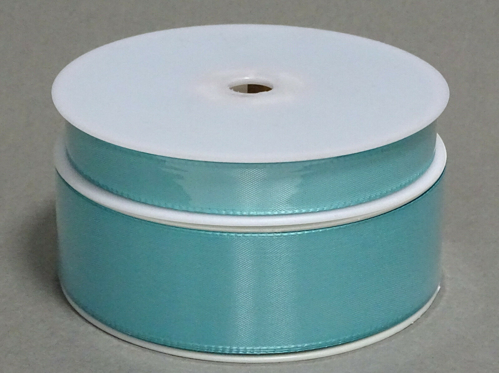 Seidenband Schleifenband 50 m x 15 / 25 / 40mm Dekoband ab 0,08€/m Geschenkband  - Aqua-Mint 146, 15 mm x 50 m