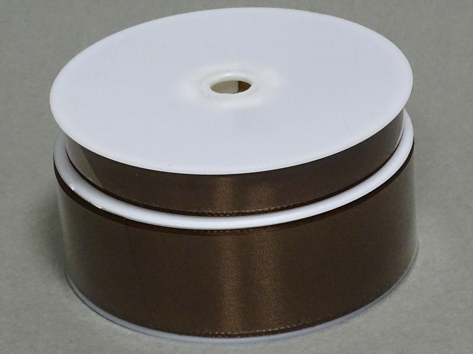 Seidenband Schleifenband 50 m x 15 / 25 / 40mm Dekoband ab 0,08€/m Geschenkband  - Braun 132, 15 mm x 50 m