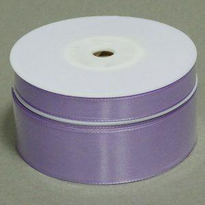 Seidenband Schleifenband 50 m x 15 / 25 / 40mm Dekoband ab 0,08€/m Geschenkband  - Flieder 114, 15 mm x 50 m