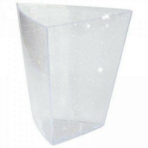 44 - 100 Premium Fingerfood Schalen Dessert Tapas Dipschale Becher ab 0,10€/Stk - 54 x Dreieck Schale groß