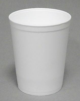 100 Stück Suppenbecher Styropor 950 ml ohne Deckel Thermo Soup to go   - 950 ml, Ø114 x 143mm