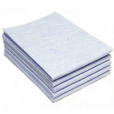 20 Stück Vlies Bodentücher 56x50 cm Putztuch Reinigungstuch saugstark Hellblau
