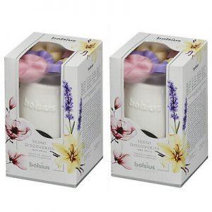 2 Pack Bolsius Aromatic Starterpack Duftlampe & Wax Melts Geschenksets