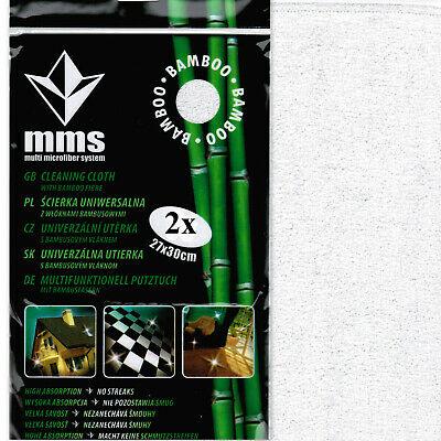 2 Stück Bambustuch Spültuch Putztuch Haushaltstücher Allzwecktücher Putzlappen