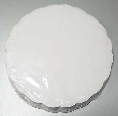 500 x Plattenpapiere Ø 30 cm Servierunterlage Tortenpapier Tellerdeckchen Weiß