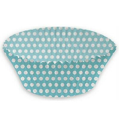 1.000 Stück Cupcake Muffinform Papier Backförmchen Kuchenform Törtchen Blau