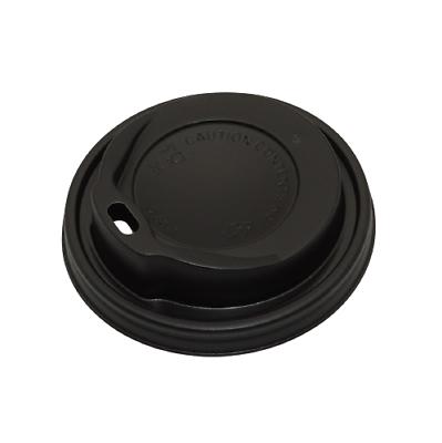1.000 Stück Coffee to go Deckel Ø 8 cm für 0,2L Kaffeebecher Pappbecher Schwarz
