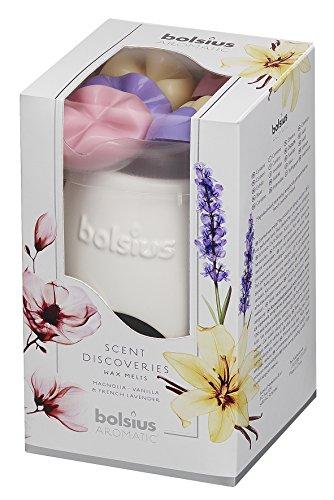 bolsius Aromatic Gift Set Geschenkset, Multi, 9.3 x 9.3 x 16 cm