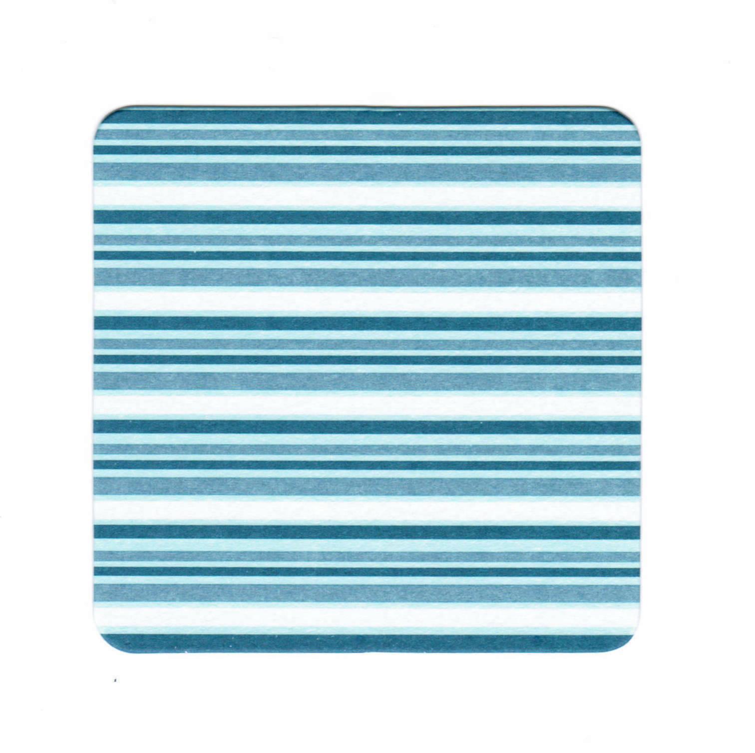 60 - 120 Stück Untersetzer für Gläser Tassen 9x9 cm Bierdeckel Pappe Grün/ Blau - 60 x Blau