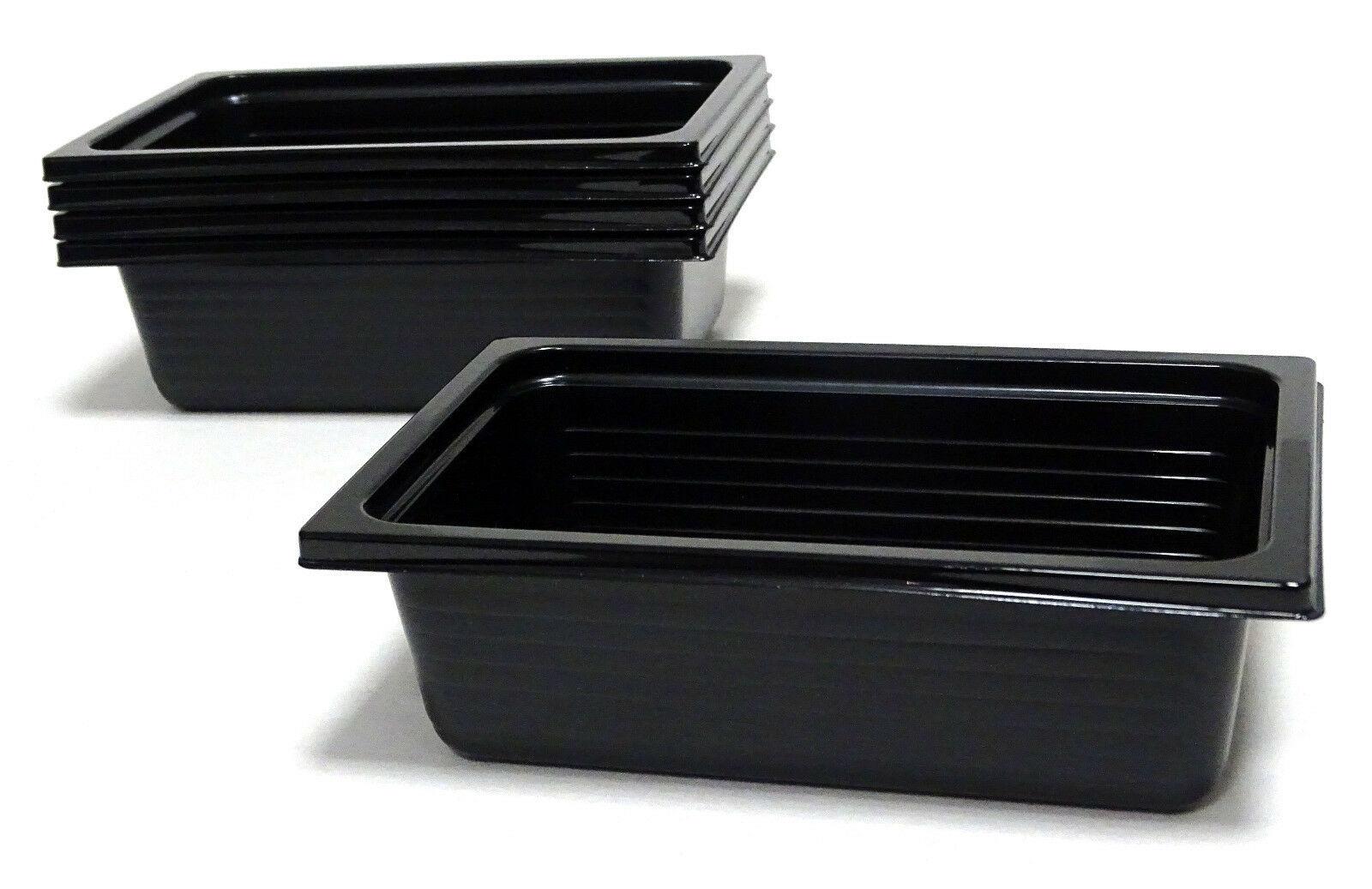 100 - 500 Stück Einweg Menüschale 500 ml CPET Schalen 161 x 102 x 50 mm schwarz - 100 Stück